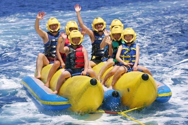 バナナボート(スキューバカンパニーマリンスポーツ)