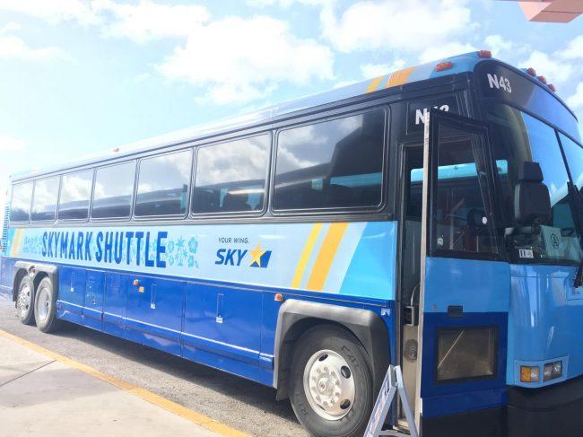 スカイマークシャトルバス(イメージ)